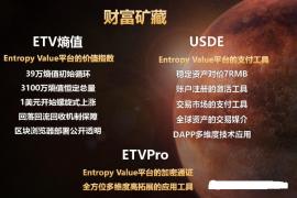"""【曝光】""""ETV全球熵""""十倍出局?玩的就是一个跑得快!"""