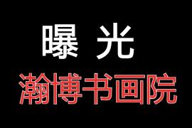 """【曝光】""""瀚博书画院""""拍卖资金盘骗局高度预警,再不撤离老天都救不了你!"""