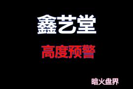 """【曝光】""""鑫艺堂""""拍卖资金盘高度预警,居然是瀚博、奇亚操盘团伙所开!"""