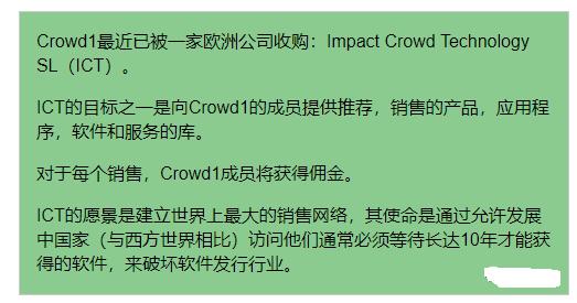 【曝光】国外人人喊打的Crowd1,正在圈最后一波钱!-第9张图片-曝光各种资金盘返利套现理财骗局_提供盘界快讯最新消息